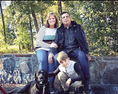 Tina Medina and family