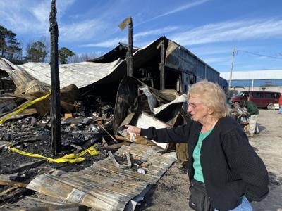 Vendors recover from NMB flea market fire ILB 3