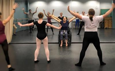 CCU professor teaches dance from a wheelchair | Horry County