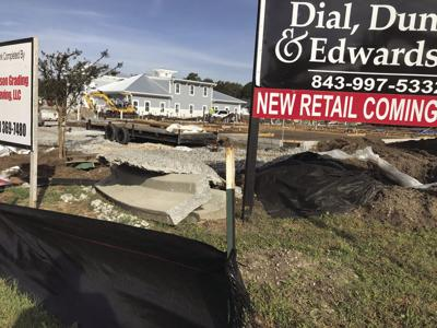 New construction at Fresh Drive strip mall