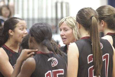 CF girls basketball