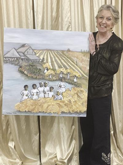 Award-winning painting