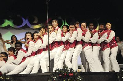 Holiday Spectacular performing