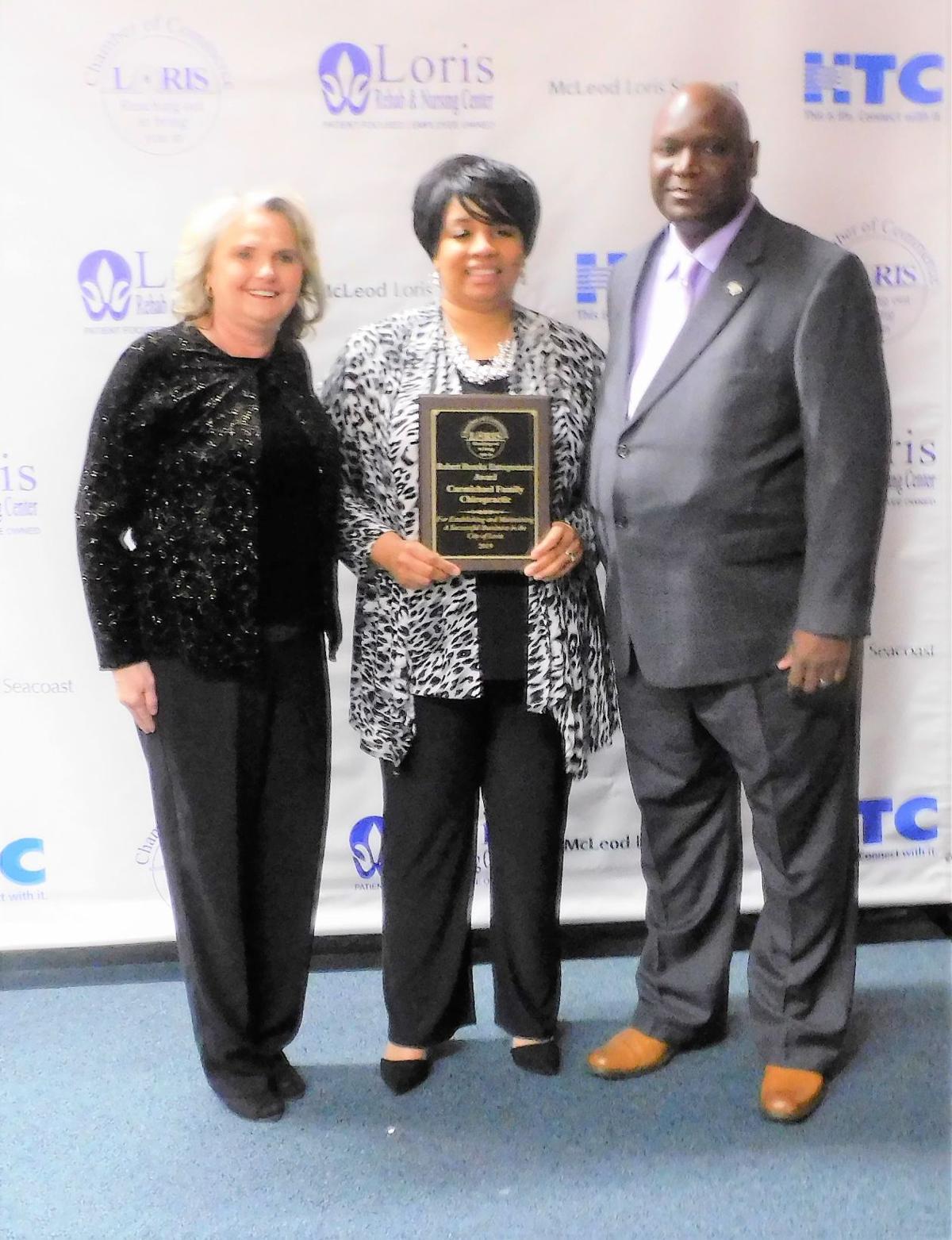 Chamber Carmichaels Robert Brooks award.JPG