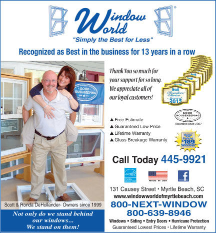 Window World Receives Readers' Choice Award