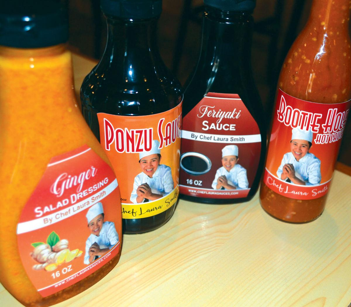 Discover flavor of Chef Laura's signature sauces at Indo Thai