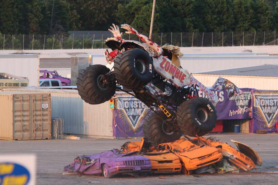 Monster Jam At The Myrtle Beach