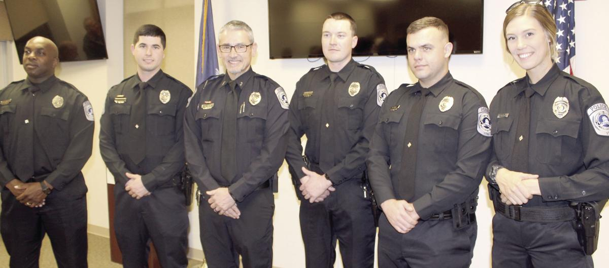 Conway police officers