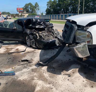 Hwy 501 Business crash Sep 13 2020