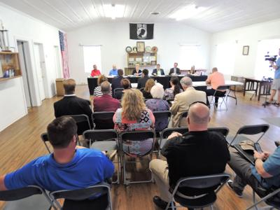 Loris City Council audit meeting