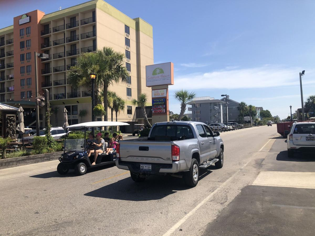 Golf carts becoming more and more popular in the Myrtle Beach area