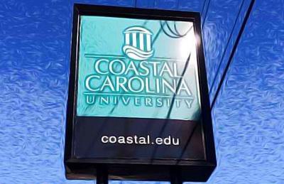 Coastal Carolina sign