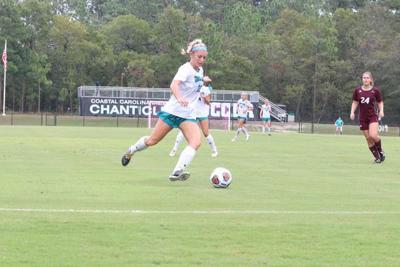 Coastal women's soccer