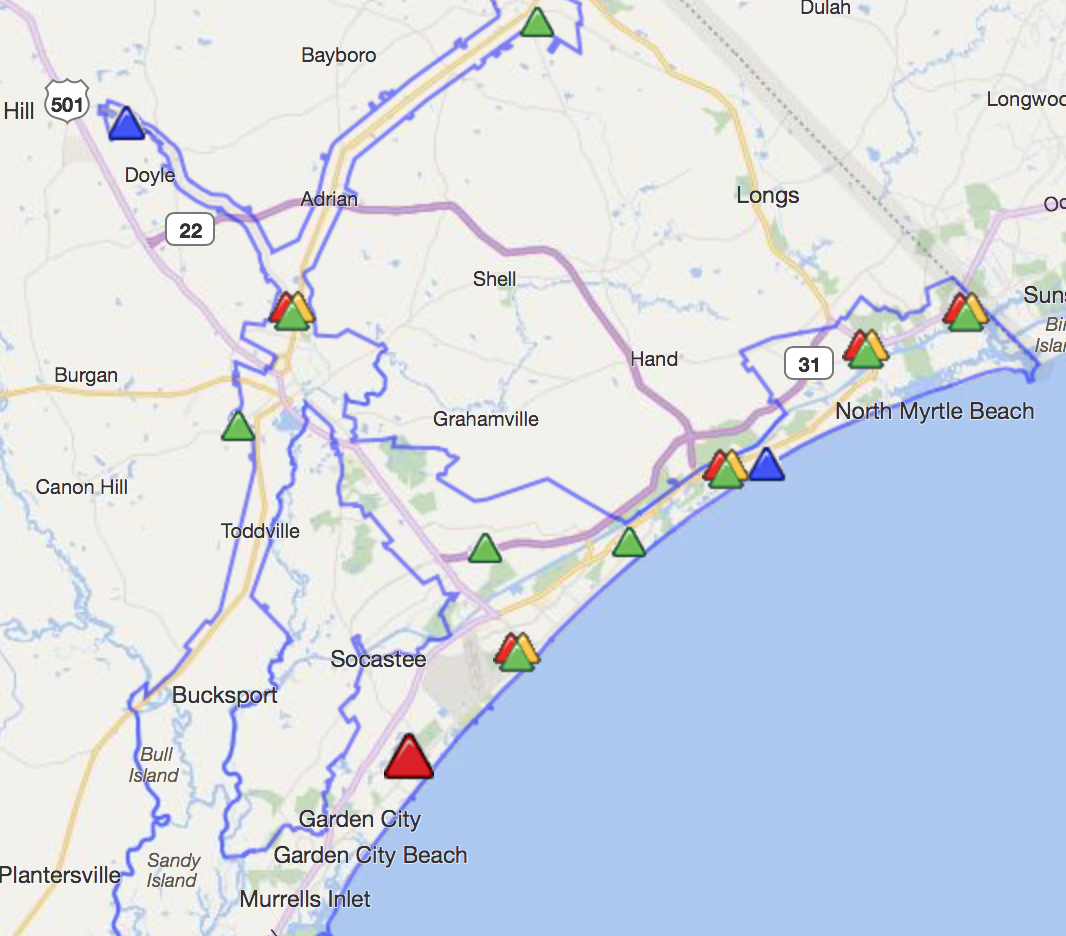 Thousands In Horry County Without Power News Myhorrynews Com