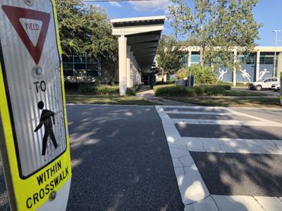 J Bryan Floyd Crosswalk