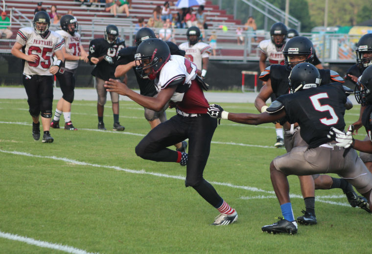 Marc Morris Makes On Field Debut In Carolina Forest Football Spring