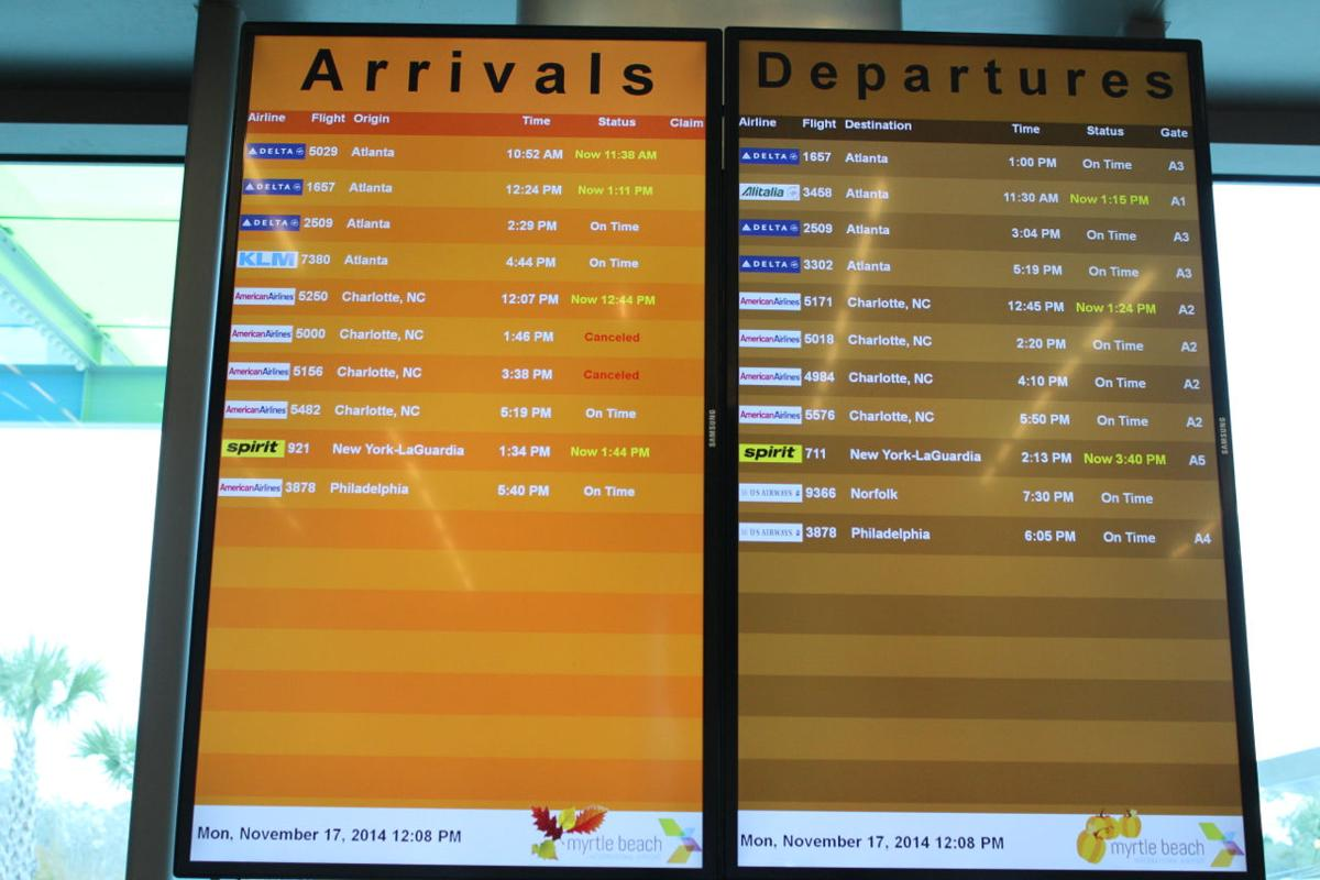 Myrtle Beach Flight Status