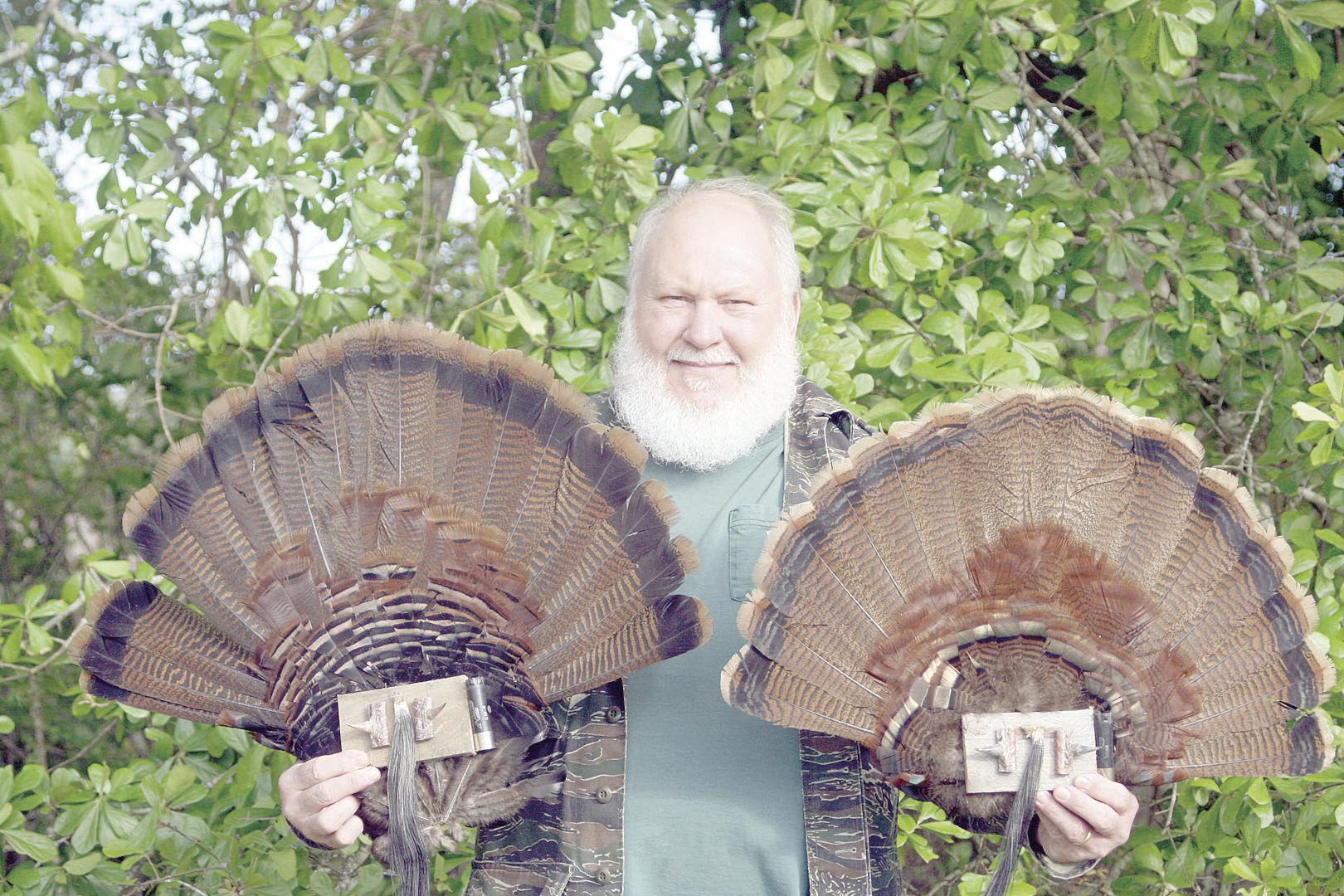 Turkey hunter Ricky Blake