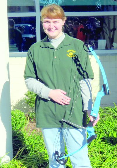 Conway High's straight shooter targets archery championships