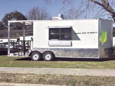 Frank Bellamy's food truck