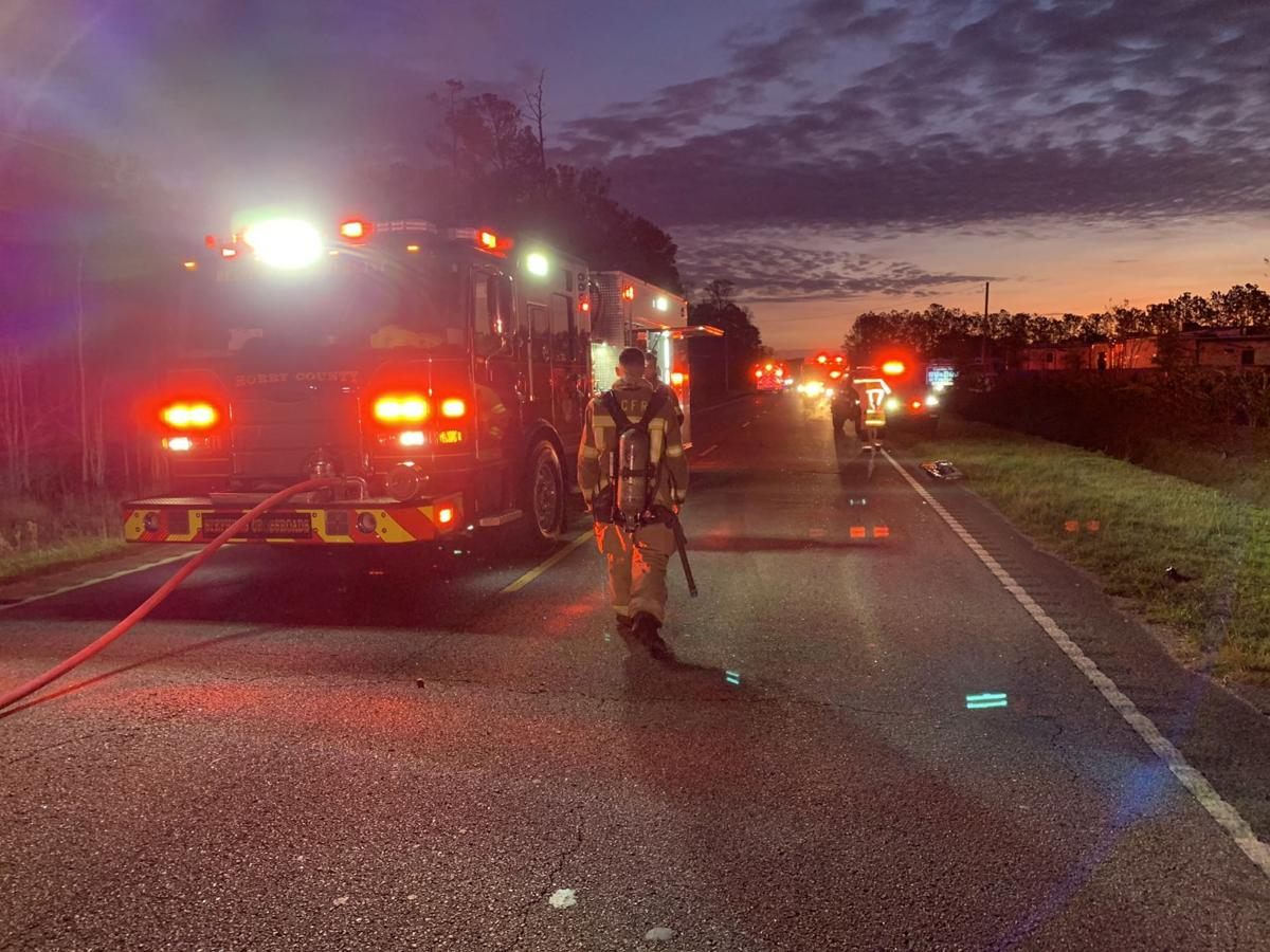 Coroner identifies man who died in wreck on SC 90