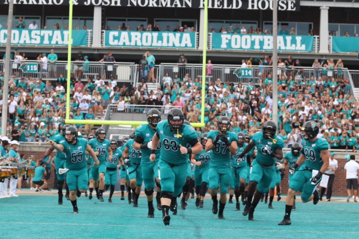 CCU leaders want to see more students at football games