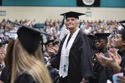 Doris Glass, 89-year-old CCU graduate