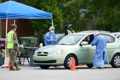 COVID-19 Hartsville testing