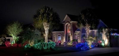 Christmas Lights Trail