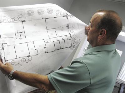 Senior Center blueprints