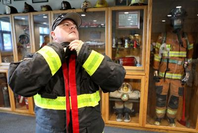First in the state to get a new kind of turnout gear, Myrtle Beach Fire Department fights cancer