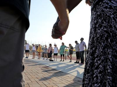 Back-To-School Prayer Walk in Myrtle Beach