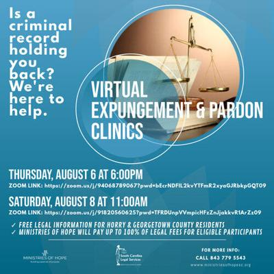 Virtual expungement and pardon clinics