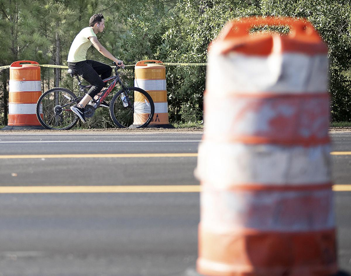 As Carolina Forest Boulevard widening wraps up, second multi-purpose path expected to be finished in fall