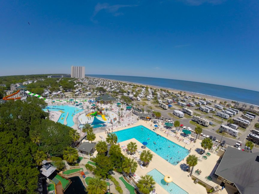 Ocean Lakes Family Campground Named Mega Park Of The Year