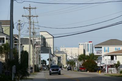 Cherry Grove power lines