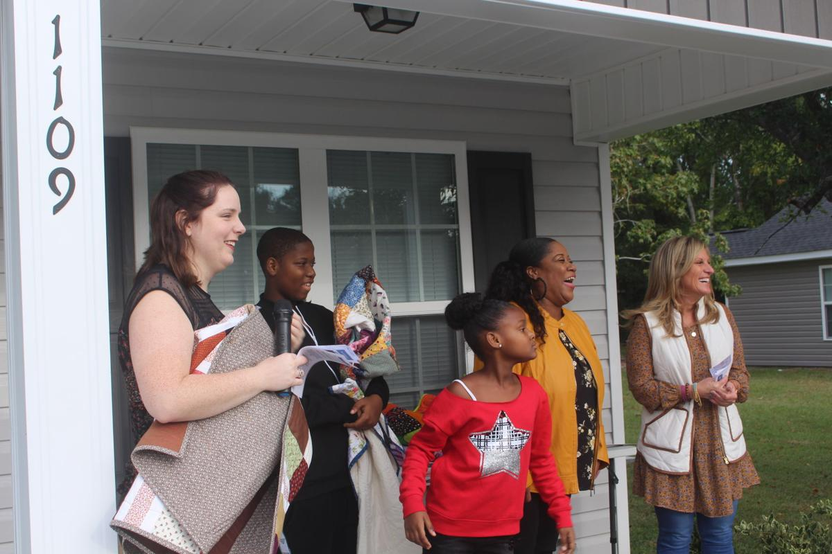 'It's a blessing': Dedication held for Habitat home in Myrtle Beach