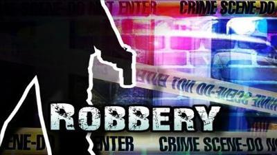 Customer, robber exchange gunfire