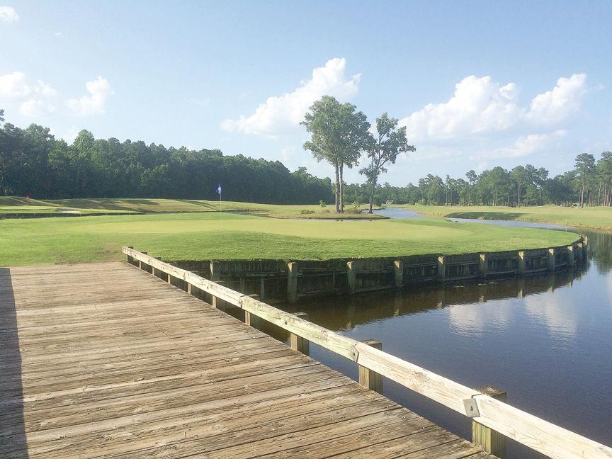 World Tour Golf Links, No. 5, Open Nine