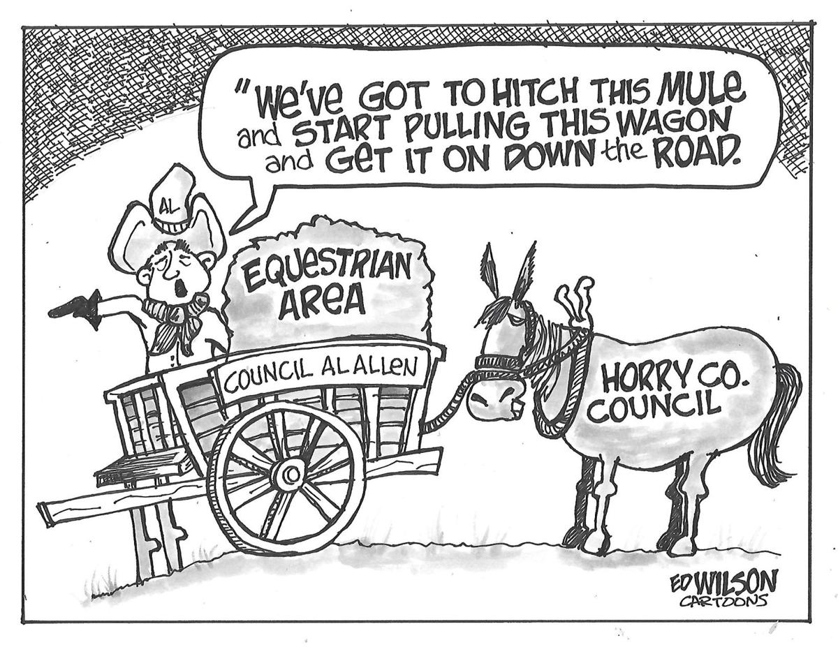 Do you think Horry County Council should build an equestrian center and civic center?