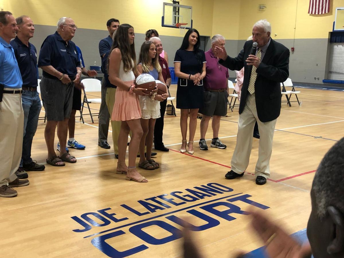 Joe Lategano honored
