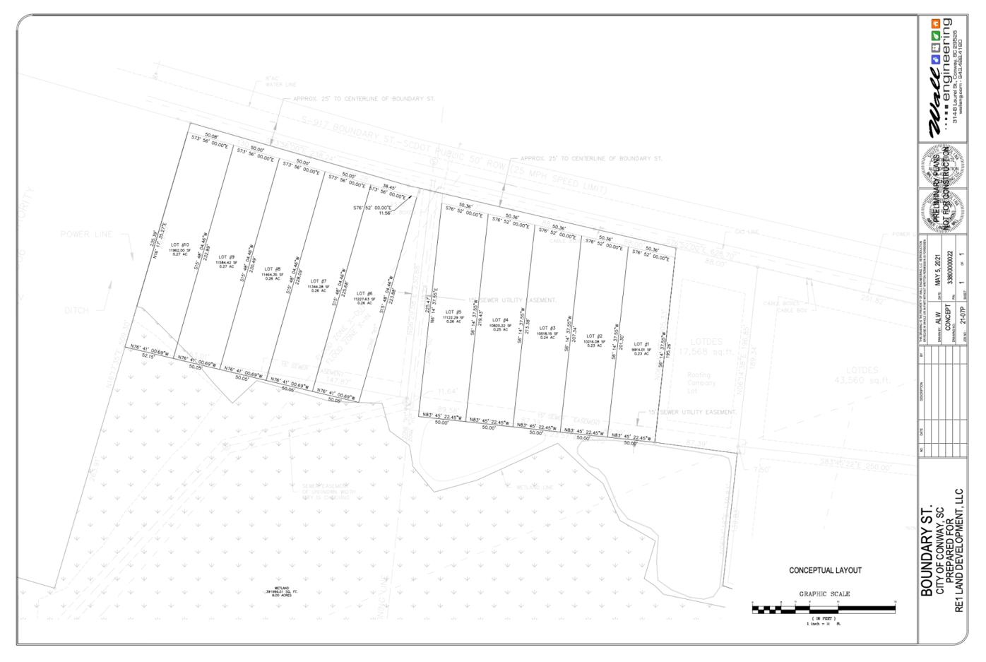 Mill Pond Road plans