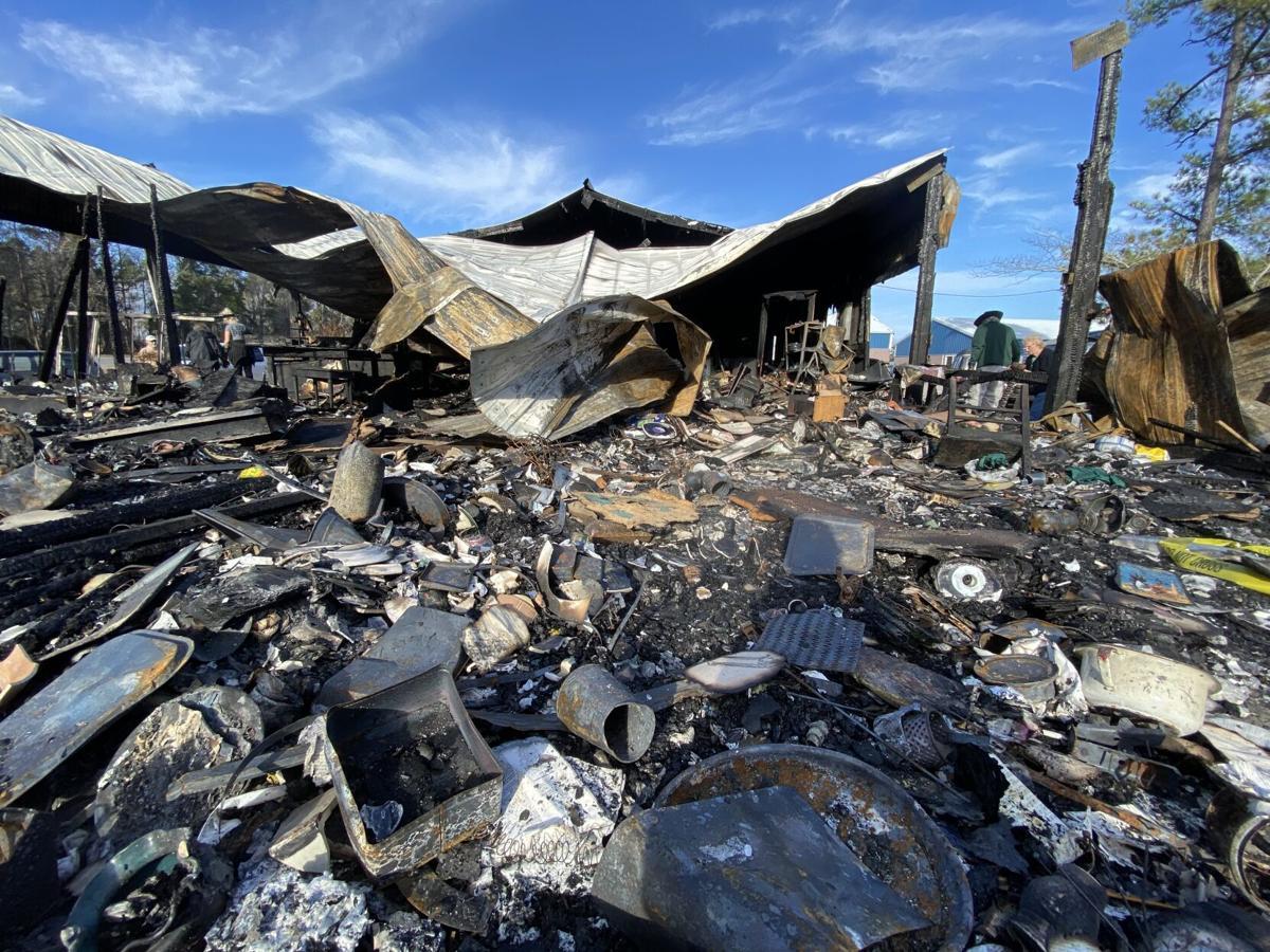 Vendors recover from NMB flea market fire ILB 2