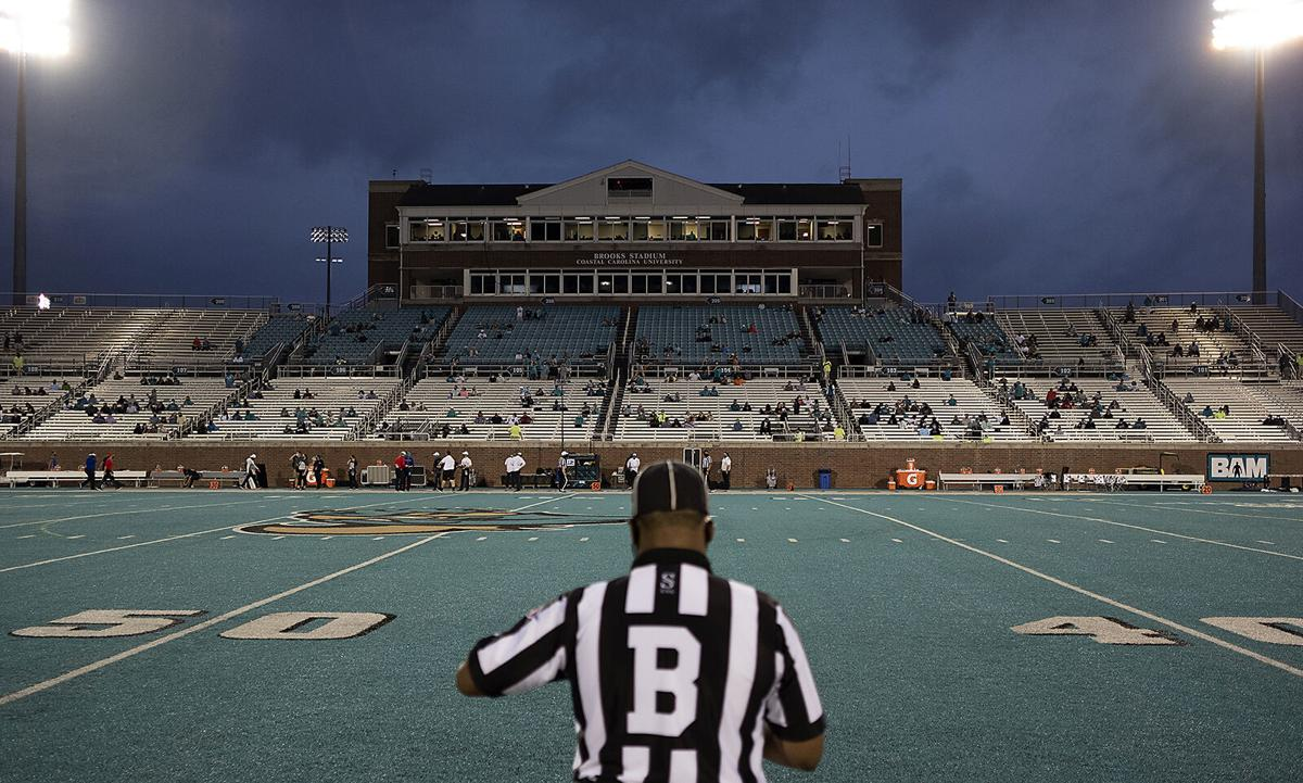 Chants Fans Return To Brooks Stadium In Ccu S Home Opener Covid 19 Coverage Myhorrynews Com