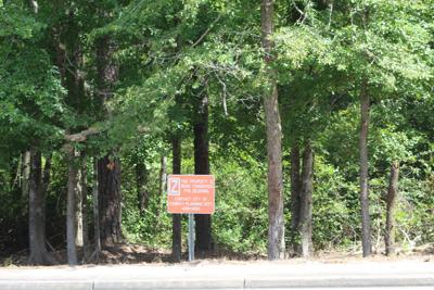 rezoning sign on &01S
