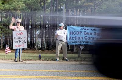 Gun Knife Show Draws Protesters In Myrtle Beach Local News