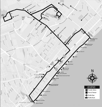 Coast RTA's route