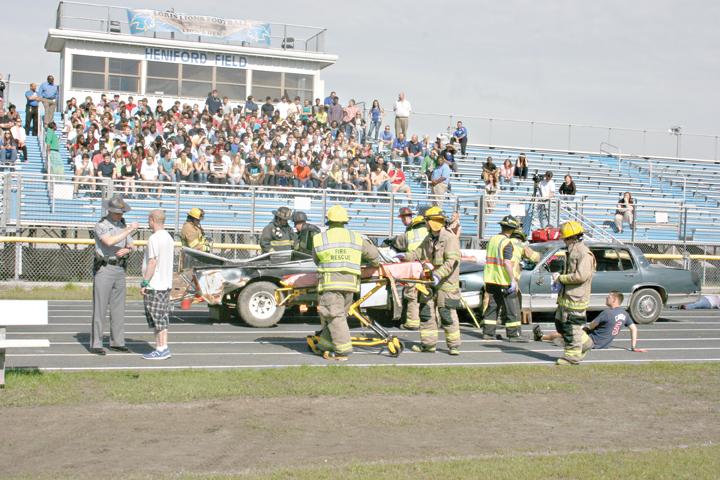 HCFR holds DUI accident reenactment at LHS | Loris | myhorrynews.com