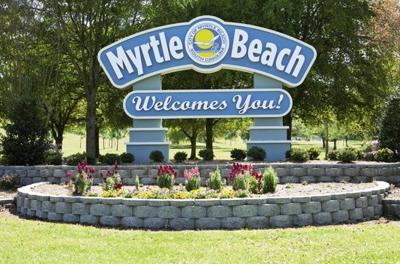 MB welcome sign