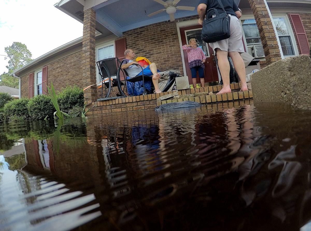 Loris Begins Assessing Storm S Damage City Hall Loses